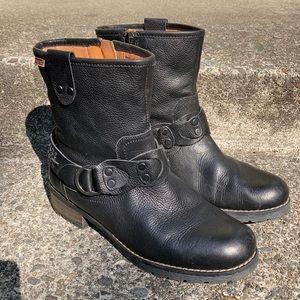 Pikolinos Short Black Boots Women's 38